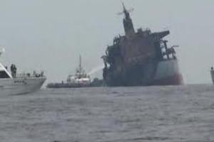 Δεξαμενόπλοιο με θειικό οξύ αναποδογύρισε στο Ρήνο